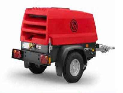 Chicago Pneumatic Model CPS185-KD 185 CFM Portable Diesel Powered