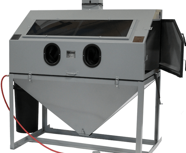 Cyclone Model Ft60 Ft6035 Top Opening Suction Blast Cabinet