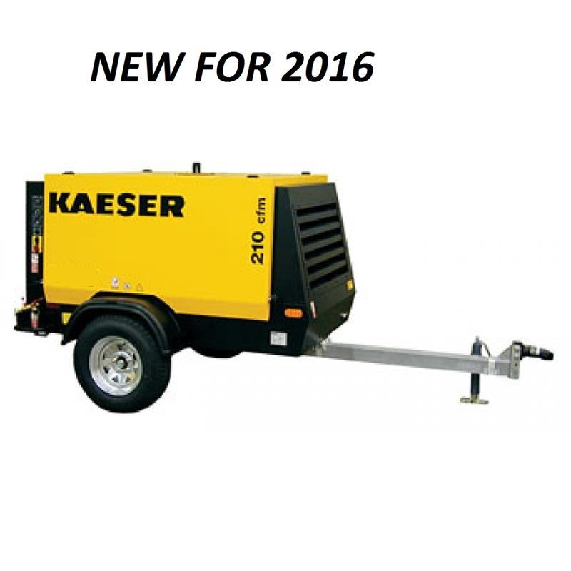 Kaeser Model M27 Portable 92 CFM Diesel Powered Air