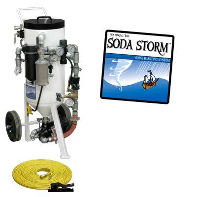 soda blast machine