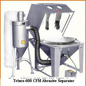 TRINCO Master Model MM4040SL Split Level Suction Blast Cabinet