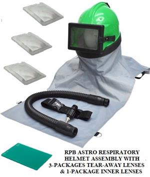 RPB Astro 02-802 Blast Hood Assembly With Lens Package