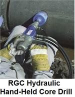 RGC Hand Held Core Drill