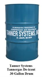 Tanner Tannergas 30 Gallon Drum